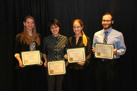 Alicia Ziegler with other Biosystems Engineering Fellows